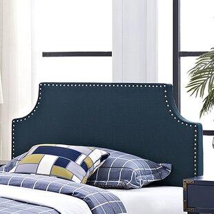 Preciado Solid Wood Upholstered Panel Headboard by Wrought Studio