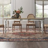 Lloyd Extendable Dining Table by Kelly Clarkson Home
