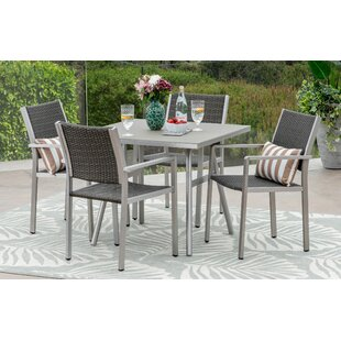 Wendell 5 Piece Dining Set by Orren Ellis #2