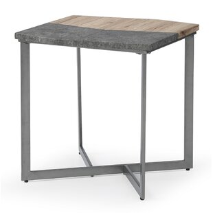 Low priced Borrero End Table By Wrought Studio