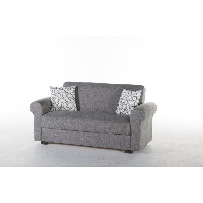 Zircon Full Split Back Convertible Sofa