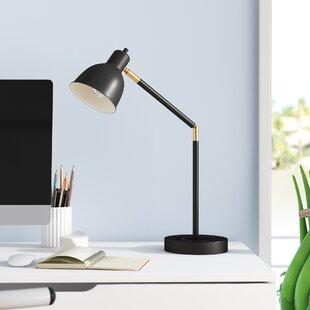 "Markey 21"" Black Desk Lamp"