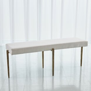 Laforge Upholstered Bench by Global Views