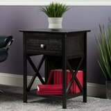 Aicha End Table with Storage by Charlton Home®