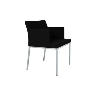 Pettiford Chrome Armchair by Wrought Studio