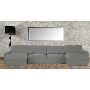 Zulma Leather Sectional