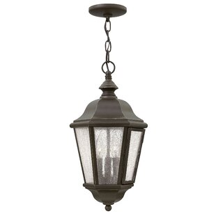 Christiane 3-Light Outdoor Hanging Lantern By Darby Home Co