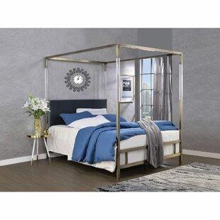 Bannan Queen Canopy Bed by Everly Quinn