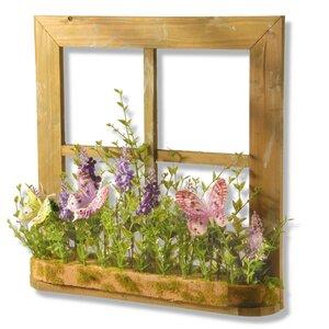 Lavender Window Decor