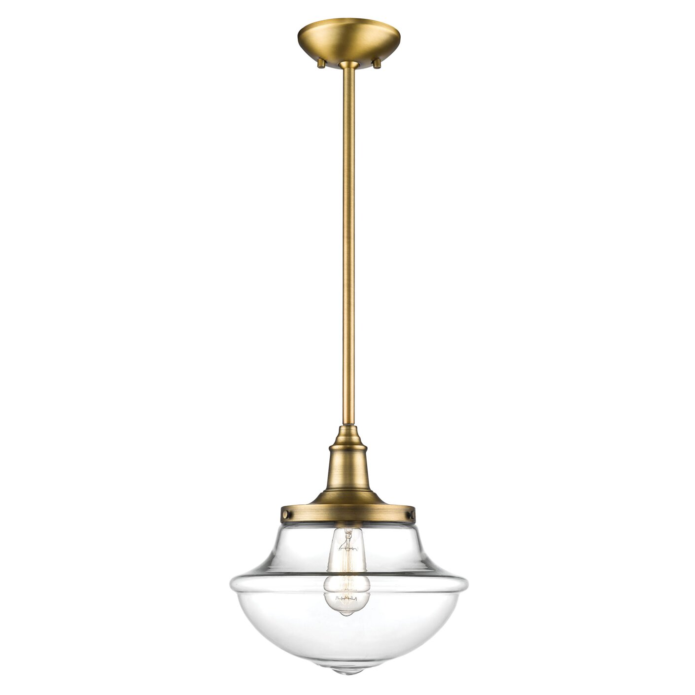 pin w l dimensions glassfeatures elk upright weight bronze schoolhouse pendants and light lbs led oiled finish in pendant white h