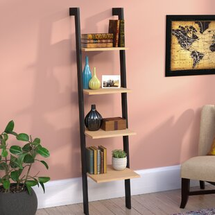 Speakman Weathered Oak Ladder Bookcase Darby Home Co Good stores for