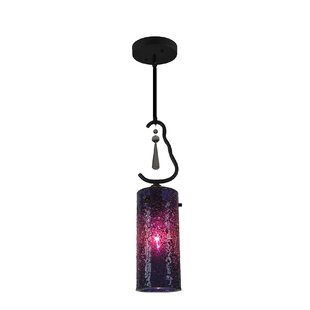Haley 1-Light Cylinder Pendant by Woodbridge Lighting