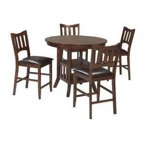 Zaftig 5 Piece Dining Set by Red Barrel Studio