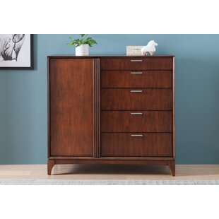 Ivy Bronx Caitlin Door 5 Drawer Chest