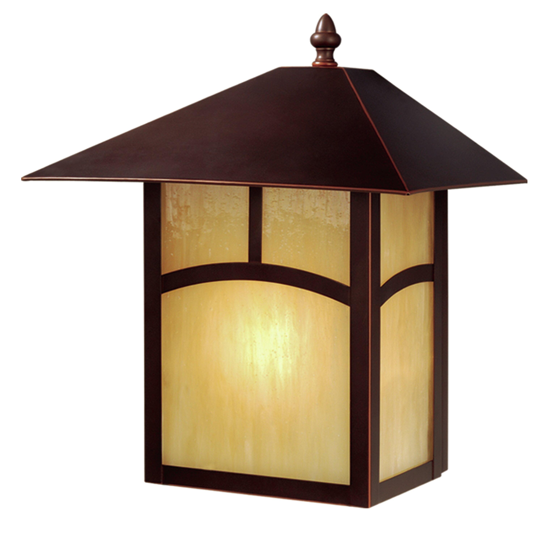 Loon Peak Fairhaven 1 Light Outdoor Wall Lantern Wayfair