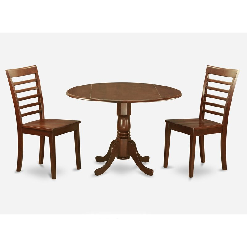 Charlton Home Gloucester 3 Piece Dining Set Reviews