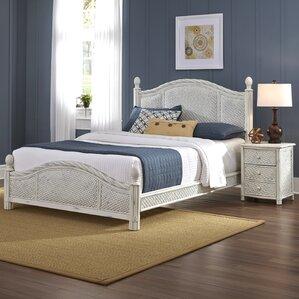 wicker bedroom sets. Dessie Panel 2 Piece Bedroom Set Wicker  Rattan Sets You ll Love Wayfair