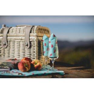 Napa Wine and Cheese Picnic Basket