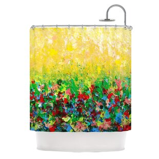 My Paintings By Ebi Emporium Single Shower Curtain by East Urban Home Great price