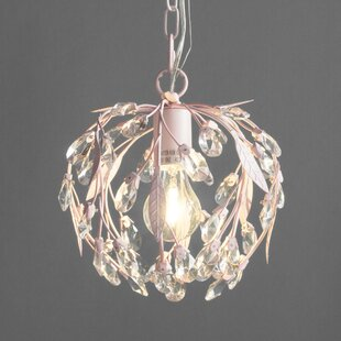 Whittingham 1-Light Crystal Pendant by Willa Arlo Interiors