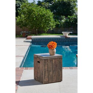 Winchcombe Outdoor/Indoor Wooden Side Table by Gracie Oaks Discount