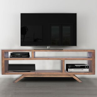Beaty Acacia Wood TV Stand for TVs up to 62