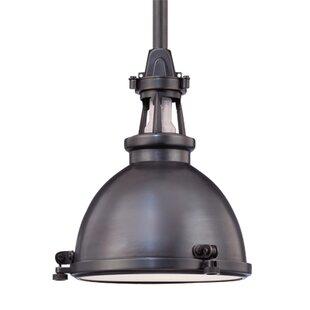 Breakwater Bay Pullman 1-Light Dome Pendant