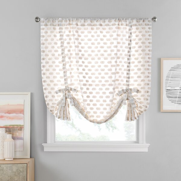 Gracie Oaks Vue Window Solutions Modo Sheer Tie Up Shade Wayfair