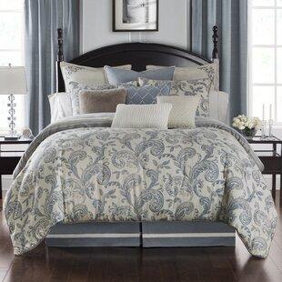 Waterford Bedding Florence 3 Piece Reversible Duvet Set