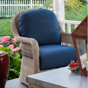 Darby Home Co Barns Patio Club Chair with Cushions