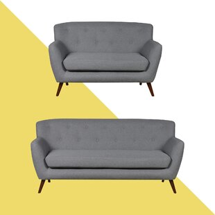 Caywood 2 Piece Sofa Set By Hashtag Home