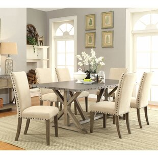 Athens 7 Piece Dining Set Infini Furnishings