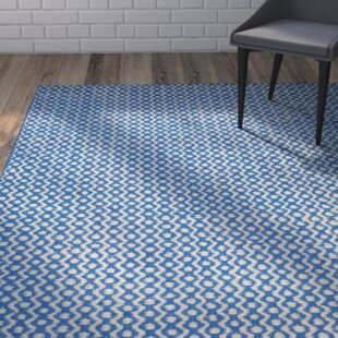 Russo Hand Loomed Royal Blue Area Rug