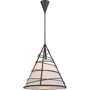 Nuvo Lighting Toro 1-Light Cone Pendant