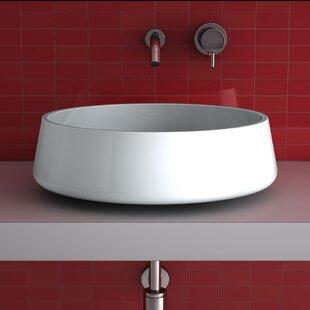 Shop For Aida Metal Circular Vessel Bathroom Sink ByMaestro Bath