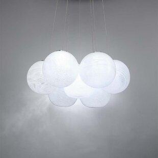 Modern Forms Cosmic Crystal 7-Light LED Novelty Chandelier