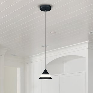 Northington 1-Light LED Cone Pendant by Orren Ellis