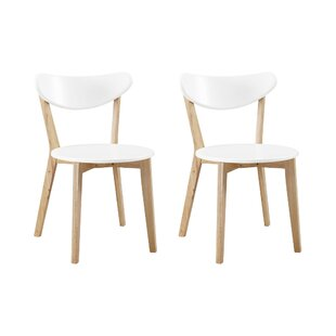 Bryant Retro Solid Wood Dining Chair (Set Of 2) By Brayden Studio