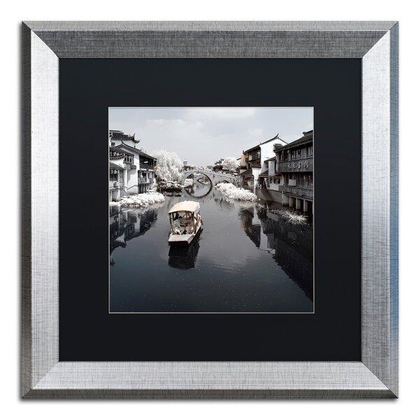 Trademark Art White City By Philippe Hugonnard Framed Photographic Print Wayfair