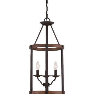 Laurel Foundry Modern Farmhouse Gabriela 3-Light Foyer Pendant