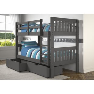 Reviews Dubbo Bunk Twin Over Twin Bed by Harriet Bee Reviews (2019) & Buyer's Guide