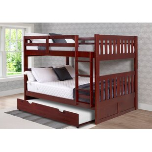 Dubbo Full Over Full Bunk Bed with Trundle