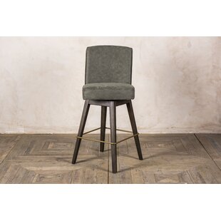 Gulley 76cm Swivel Bar Stool By Rosalind Wheeler