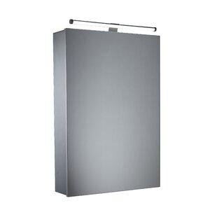 Review 44cm X 65cm Surface Mount Mirror Cabinet