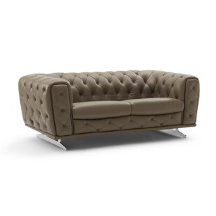 Bloomsburg Leather Loveseat