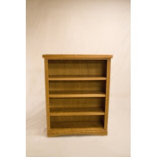 Curiel 2 Shelf Traditional Standard Bookcase