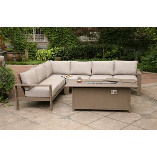 Otega 5 Piece Sofa Seating Group with Cushion
