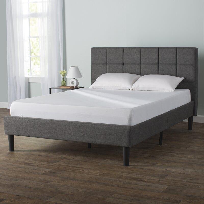 Colby Upholstered Platform Bed & Reviews | AllModern