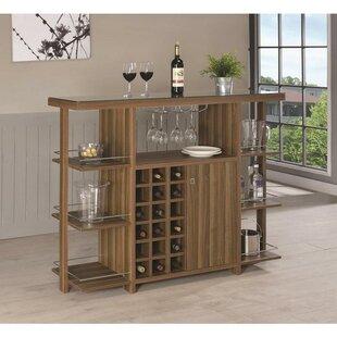 Millwood Pines Fassett Bar with Wine Storage