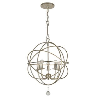 Willa Arlo Interiors Rodrigues 5-Light Globe Chandelier